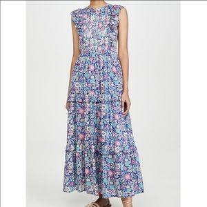 Banjanan Iris Dress Anna's Wild Garden Blueprint
